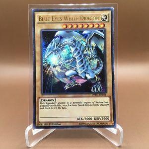 Yu-Gi-Oh Blue Eyes White Dragon